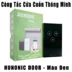 Công Tắc Cửa Cuốn Thông Minh HUNONIC DOOR ( màu đen)