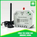 Công tắc Noma – Điều khiển mọi thiết bị từ xa qua điện thoại dùng sim