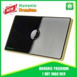 Hunonic Premium 1 Nút Màu Đen