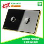 Hunonic Premium 2 Nút Màu Đen
