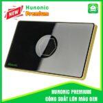 Hunonic Premium Công Suất Lớn Cho Máy Bơm, Bình Nóng Lạnh Màu Đen