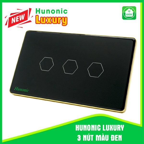 luxury hunonic 3 nut mau den