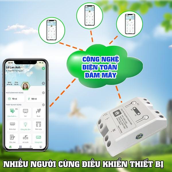 cong tac thong minh wifi hunonic datic 3