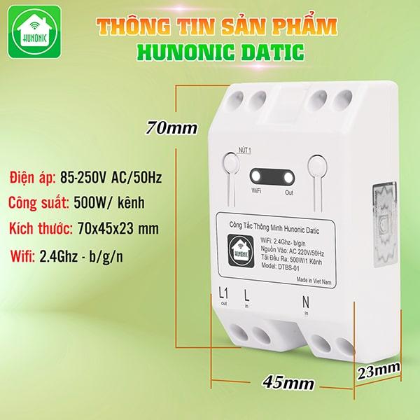 cong tac thong minh wifi hunonic datic 9